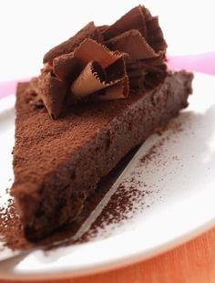 Torta mousse al forno - - Torta mousse al forno - ? Chiffon Cake, Cheesecake, Sweets, Homemade, Baking, Desserts, Recipes, Food, Presto