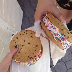 ♡ Follow amazinggrace31 | ice cream sandwich