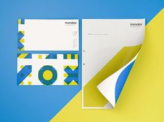 Monday Consulting – Brand Identity on Behance