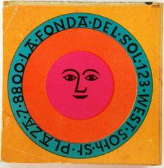 By Alexander Girard. Art Furniture, Vintage Furniture Design, Alexander Girard, Vintage Graphic Design, Graphic Design Typography, Mood And Tone, Tarot, Indian Folk Art, Hippie Art