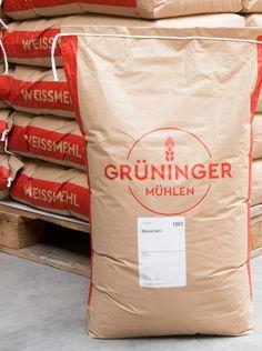Type Mates Fonts In Use Grueninger Muehlen Studio Ritsch Flour Bag Cera Pro