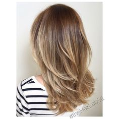 Pretty hair cut and color