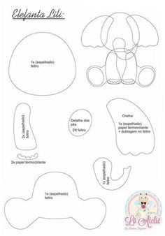 FETROKLUB: ideas - felt - productsFETROKLUB: ideas - felt - productsThis article is not availableTiny Felt Elephant Circus Elephant Felt Animals Pom Pom Elephant Template, Elephant Pattern, Elephant Applique, Felt Animal Patterns, Stuffed Animal Patterns, Quilt Baby, Baby Crafts, Felt Crafts, Decoration Creche