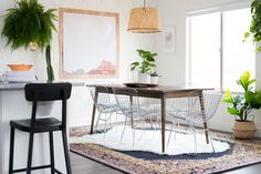 Aspyn's Fresh and Bohemian Dining Room Makeover REVEAL! from Vintage Revivals