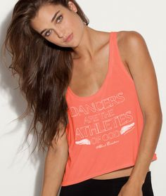 """""""Dancers are the Athletes of God"""" - Albert Einstein quote on a boxy coral tank"""