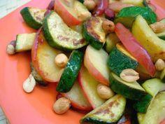 Calabacines con Manzana - Blog de Recetas Saludables Y Vegetarianas