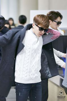 Xiumin | 150131 Gimpo Airport departing for Busan