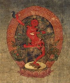 The meditational deity Vajrayogini.