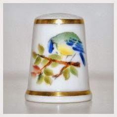 THIMBLES: New Royal Worcester!