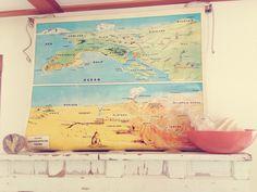 The most splendid vintage map!