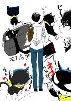 Persona 5 Akira Kurusu, Morgana