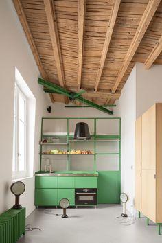 Apartment Interior, Kitchen Interior, Kitchen Design, Cheap Home Decor, Diy Home Decor, Interior Architecture, Interior Design, House Inside, Green Rooms