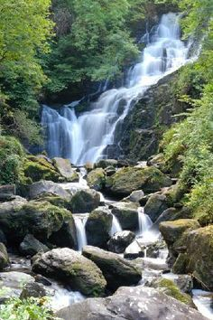 torc waterfall - Killarney Ireland