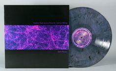 "Stephen Rush, Jeremy Edwards, Andrew Bishop ""Dark Matter"" 12"" Transparent Blue, Black, & Pink Mix Vinyl LP"