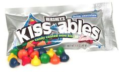 I miss my favorite candy: Hershey's Kissables