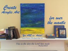 Summer Sea Acrylic Art Tutorial - You ARE an Artist!