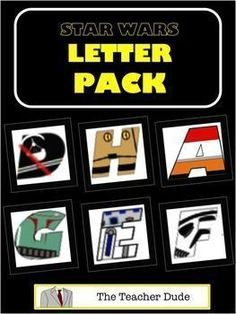 This letter pack is designed to print, cut out each letter and use for classroom bulletin boards, parties, name signage or decor, and much much more. There is a separate page for each letter that is approximately inches tall. Superhero Bulletin Boards, Bulletin Board Letters, Back To School Bulletin Boards, Classroom Bulletin Boards, Star Wars Classroom, Superhero Classroom Theme, Classroom Themes, Classroom Design, Star Wars Party Supplies