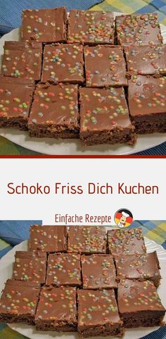 Chocolate Eat your cake- Schoko Friss Dich Kuchen Ingredients 250 g flour 250 g. Chocolate Eat your cake- Schoko Friss Dich Kuchen Ingredients 250 g flour 250 g sugar, brown 250 g butter 2 tbsp. Delicious Cake Recipes, Easy Cake Recipes, Yummy Cakes, Homemade Marshmallow Fluff, Homemade Marshmallows, Food Cakes, Cupcake Cakes, Low Fat Cake, Cake Oven
