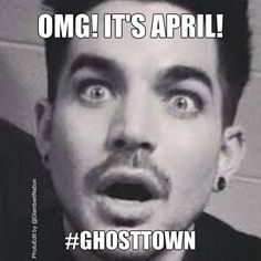 It's April and @adamlambert fans are like -