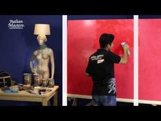 Pintar una pared imitación Mármol Pulido - YouTube