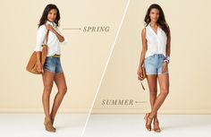 The classic white button-up is anything but basic. You're going to need a summertime sleeveless version!