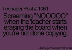 LOL had to teach myself the ways of writing FAST haha