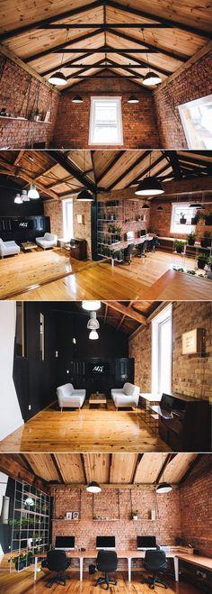 futuristic office ditches cubicles super. Rustic And Warm Office Decor. Futuristic Ditches Cubicles Super