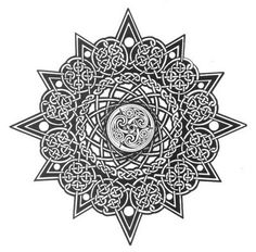 Aztec Sun Tattoo