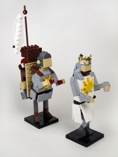 ha!  monty python and the holy grail - in lego!!