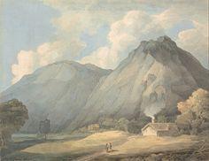Francis Towne. Warercolour Landscape