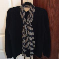 Blue & Cream Scarf Blue & cream scarf Accessories Scarves & Wraps