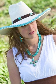If i was a cowgirl... Brit+West turquoise everything