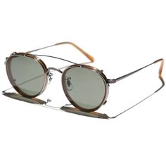 Oliver Peoples Vintage // MP-2 with Clip-on // col. AMT