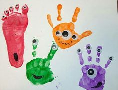 Kids Art Project / Finger Paint