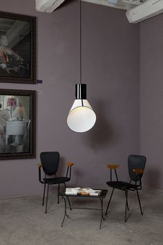 'Cargo' light collection by Hervé Langlais for designheure. There are also floor and table versions.