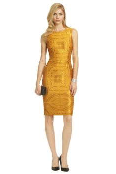 Vera Wang - Sun Goddess Sheath absolutely stunning - truly is artwork just wish it was a different color. Royal purple or silver maybe. Event Dresses, Casual Dresses, Goddess Dress, Vera Wang Dress, Fashion Moda, Pretty Dresses, Passion For Fashion, Dress To Impress, Designer Dresses