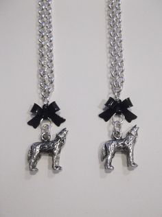 Small Sterling Silver Wolf Necklace (only two).  Length-49cm  Price- $30 NZD  Contact- kendal.halloran@gmail.com