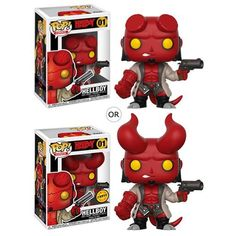 Buy Hellboy with Jacket Funko Pop! Vinyl from Pop In A Box UK, the home of Funko Pop Vinyl subscriptions and more. Pop Vinyl Figures, Funko Pop Figures, Funko Pop Dolls, Figurines Funko Pop, Pop Figurine, Madrid Barcelona, Teahouse Comic, Legos, Pop Collection