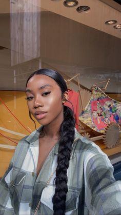 Baddie Hairstyles, Black Girls Hairstyles, Braided Hairstyles, Formal Hairstyles For Long Hair, Short Hairstyles, Black Girl Ponytails, Wedding Hairstyles, Birthday Hairstyles, Slick Hairstyles