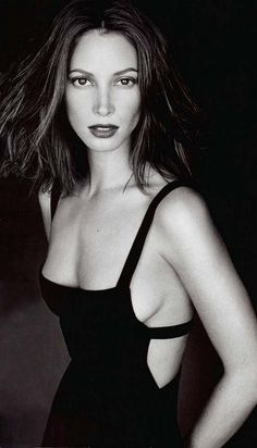 Christy Turlington is a divine creature.