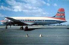 Douglas DC-4 Australian Douglas Dc 4, Australian Airlines, Airline Logo, Air Festival, Cargo Airlines, Aircraft Photos, Airplanes, Aviation, Jet