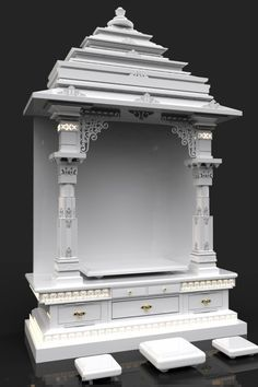 temple design for home Temple Room, Home Temple, Amarnath Temple, Juno Temple, Temple India, Golden Temple, Indian Temple, Buddhist Temple, Wooden Temple For Home
