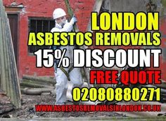 London Asbestos Removal Company Licence, We Do All Asbestos Work, Free Quote Today 15% Discount - All Asbestos Services Done To 5*