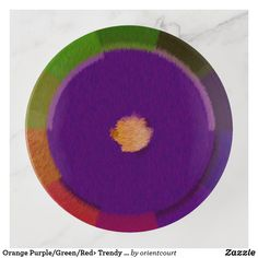 Never waste time by looking for your lost jewelry, coins, and small items by placing them in a trinket tray from Zazzle! Creative Walls, Orange And Purple, Fused Glass, Safe Food, Tray, Tableware, Green, Design, Dinnerware