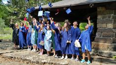 South Central students celebrating their Graduation Day together. We want to give special thanks to Monte Fuller for arranging the park pavilion for the event. It was the perfect spot for all the festivities - Graduation, lunch, boat rides, trail hiking, and of course, tons of pictures!