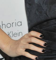 Black & silver reverse manicure...very chic  http://glo.msn.com/beauty/2011-nail-trends-7718.gallery?photoId=76174
