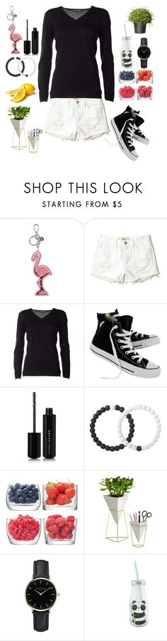"""""""Untitled #156"""" by jkrawiec ❤ liked on Polyvore featuring Miu Miu, Hollister Co., Snobby Sheep, Converse, Marc Jacobs, Lokai, LSA International, Umbra and ROSEFIELD"""