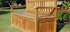 Elegant Outdoor Storage Bench Seat Collections