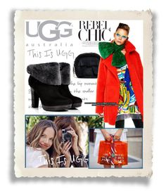 """""""On the Road with UGG: Contest Entry"""" by jessi-pham ❤ liked on Polyvore featuring UGG Australia"""