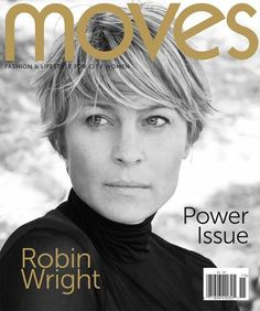 Robin Wright for NY MOVES, November 2011
